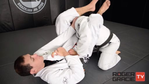 Armbar from Closed Guard Roger Gracie