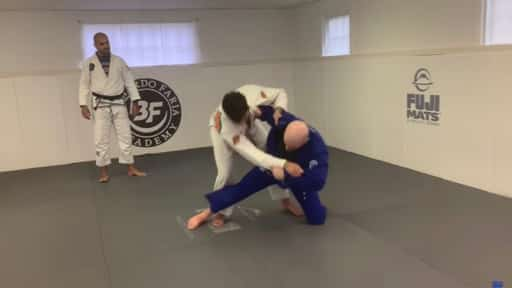 BJJ Takedown Tai-otoshi throw