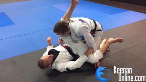 Double Under Closed Guard Pass