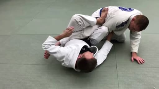 Escaping Mount BJJ