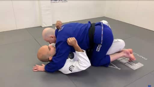 Half Guard Pass Variation