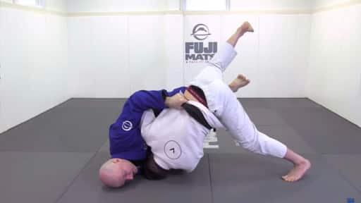 Hooking Sweep BJJ