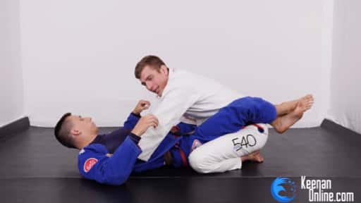 Keenan Cornelius Passing Closed Guard