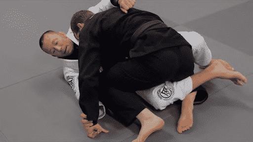 Kimura Half Guard Bottom