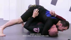 Marcelo Garcia Half Guard Pass to Triangle Choke