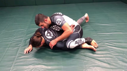 Omoplata from Bottom