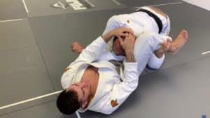 Triangle Choke from Closed Guard